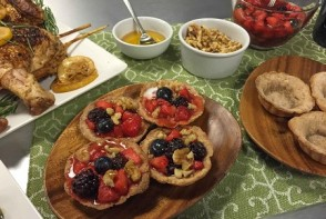 Culinary CPR: Honey Barley Fruit Tartlets