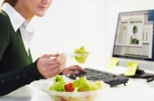 Dining at Your Desk May Cause You to Call in Sick