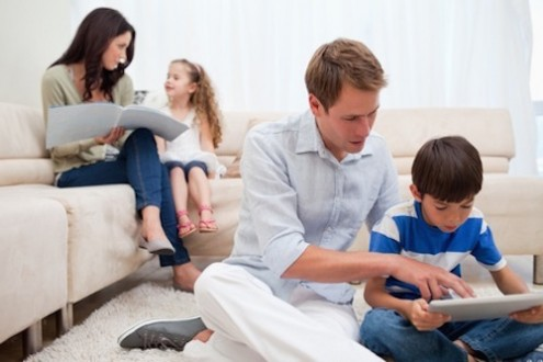 Families More Likely to Be Sedentary than Physically Active