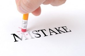 Harnessing the Power of Mistakes
