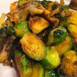Culinary CPR: Warm Brussels Sprouts & Hazelnut Salad