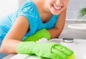 Speed Cleaning Your Kitchen the Green Way